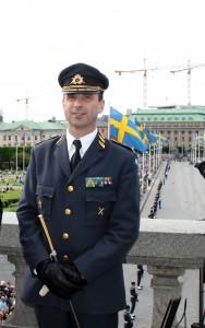 Överkommendanten i Stockholm 2014 - Generallöjtnant Dennis Gyllensporre