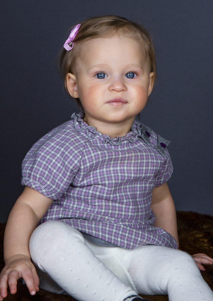 Min lilla dotter Nicole Gyllensporre